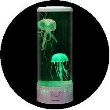 Aquarium - rond met kwallen