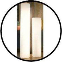 Snoezel meubelen - van kleur veranderende cylinder 70 cm