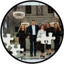 Puzzel Koninklijke Familie