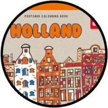 Postkaarten kleurboek Holland
