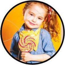 Puzzel Kind met lolly - 15 grote stukken