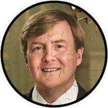Puzzel Koning Willem-Alexander - NIEUW