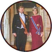 Puzzel Willem-Alexander & Maxima
