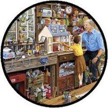 Puzzel - Grootvaders's Werkplaats (40 stukjes)
