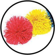 Pom Pom balls 10 cm set van 2