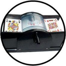 Kaarten schudmachine