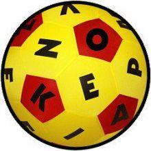 Speelbal alfabet