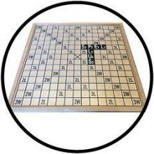 Scrabble XL Grootletter - Hout