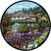 Puzzel - Monet's Garden - 63 stukjes