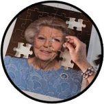 Puzzel Prinses Beatrix - 80 jaar