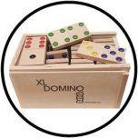 Domino XXL - met reliëfnoppen