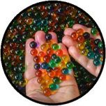 Sensomotorische Gelparels - Bonte Kleuren