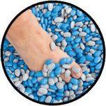 TheraBeans® 30 kg compleet incl. doorzichtige acrylbak