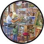 Puzzel - Het Atelier (500 XL)