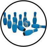 Kegelspel soft blauw