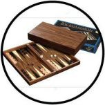 Backgammon kassette Skeloudi groot
