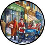 Puzzel Familie Kerstwinkel (100 XXL)