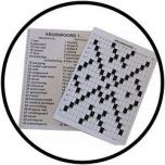 Kruiswoordpuzzel grootletter
